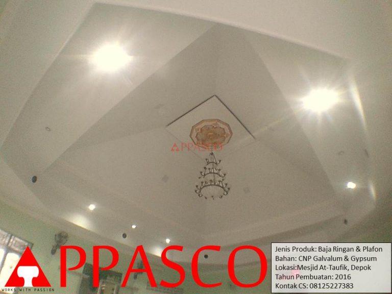 Atap Baja Ringan dan Plafon Untuk Masjid