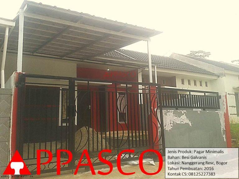 Pagar Minimalis Nanggerang Bogor