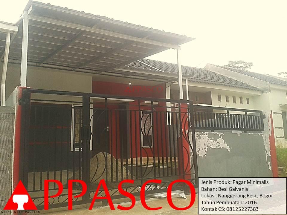 Pagar Minimalis Naggerang Bogor