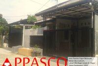 Pagar Minimalis Villa Bogor Indah