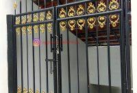 Pintu Besi Tempa Taman CImanggu Bogor