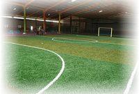 ilustrasi lapangan futsal indoor