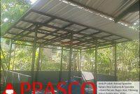 kanopi atap spandek cibinong