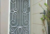 pintu teralis minimalis model klasik