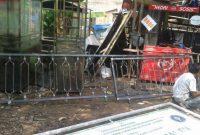 proses pembuatan railing tangga