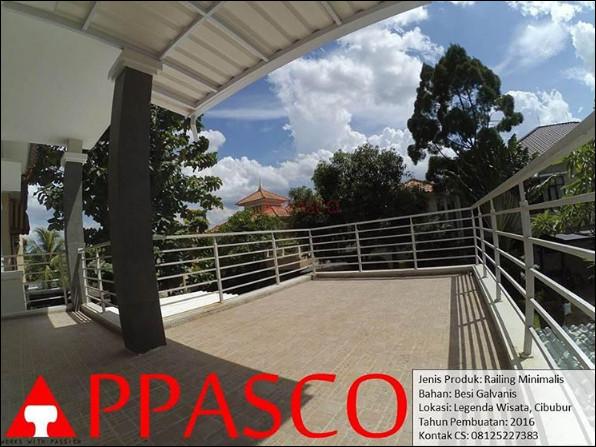 railing balkon minimalis cibubur