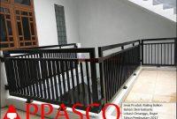 railing balkon rumah tingkat bogor