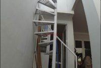 tangga putar besi minimalis