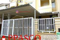 kanopi dan pagar minimalis kontemporer