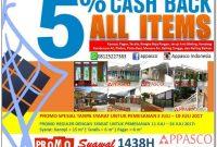 promo cashback bulan juli - kanopi murah