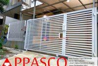 termurah - jual pagar minimalis warna putih di cilebut residence bogor