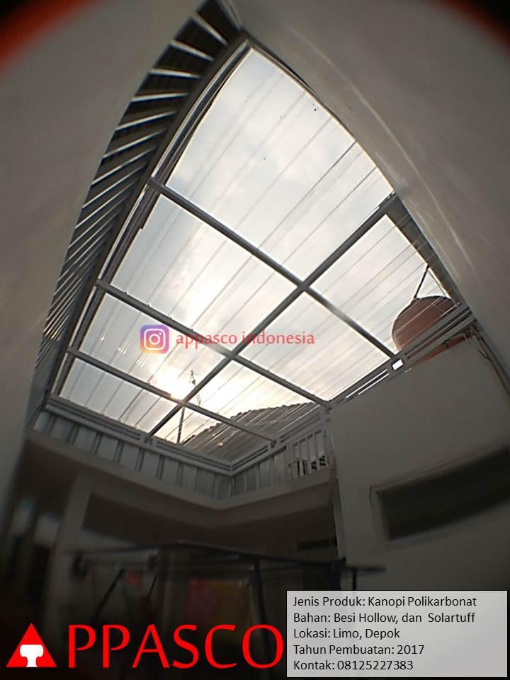 kanopi transparan atap jemuran belakang