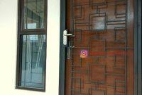 pintu teralis besi minimalis