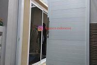 Pintu Geser Aluminium di Villa Bogor Indah