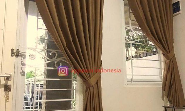 Teralis Besi Nako di Villa Bogor Indah