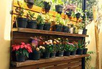 Jual rak pot tanaman bunga desain unik di Jakarta Timur