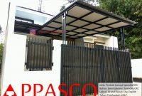 Kanopi Minimalis Atap Spandek Peredam GRC di Grand Depok City