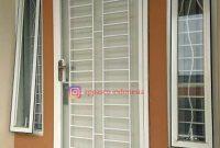 Pintu Teralis Minimalis Besi Siku di Bogor