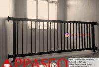 Railing Minimalis Untuk Lantai 2 di Taman Yasmin Bogor