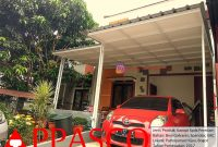 Kanopi Minimalis Spandek Peredam di Pamoyanan Hijau Bogor