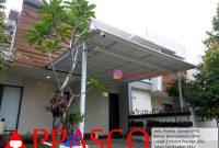 Kanopi Minimalis Atap UPVC untuk Rumah Cantik di BSD Tangsel