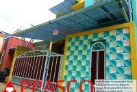 Kanopi Minimalis Atap Polikarbonat Solartuff di Regata Bintaro
