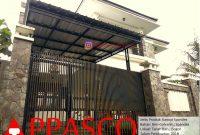 Kanopi Minimalis Atap Spandek Minimalis Galvanis di Tanah Baru Bogor