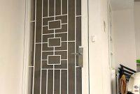 Pintu Teralis Minimalis di Cendana Residence Serua