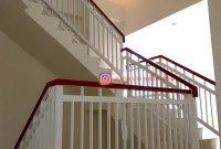 Railing Tangga Minimalis di Apartemen Depok Kukusan