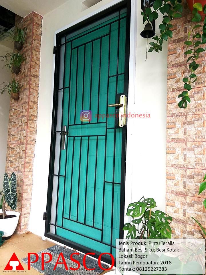 Pintu Teralis Rumah Minimalis Keren Unik di Bogor - Jual ...
