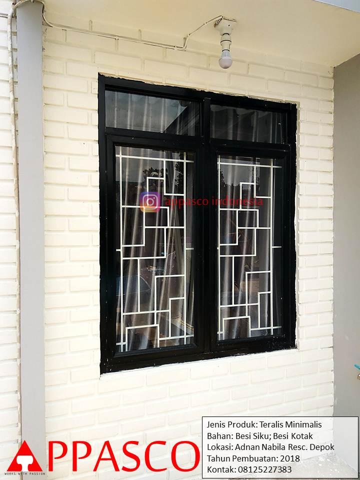 Teralis Minimalis Jendela Rumah Klasik Unik