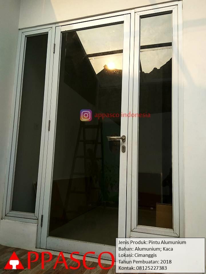 Pintu Aluminum dan Kaca di Cimanggis