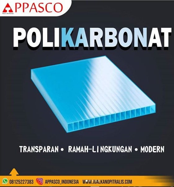 atap polikarbonat