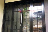 Pintu Aluminium dan Kaca di Tegalega Bogor