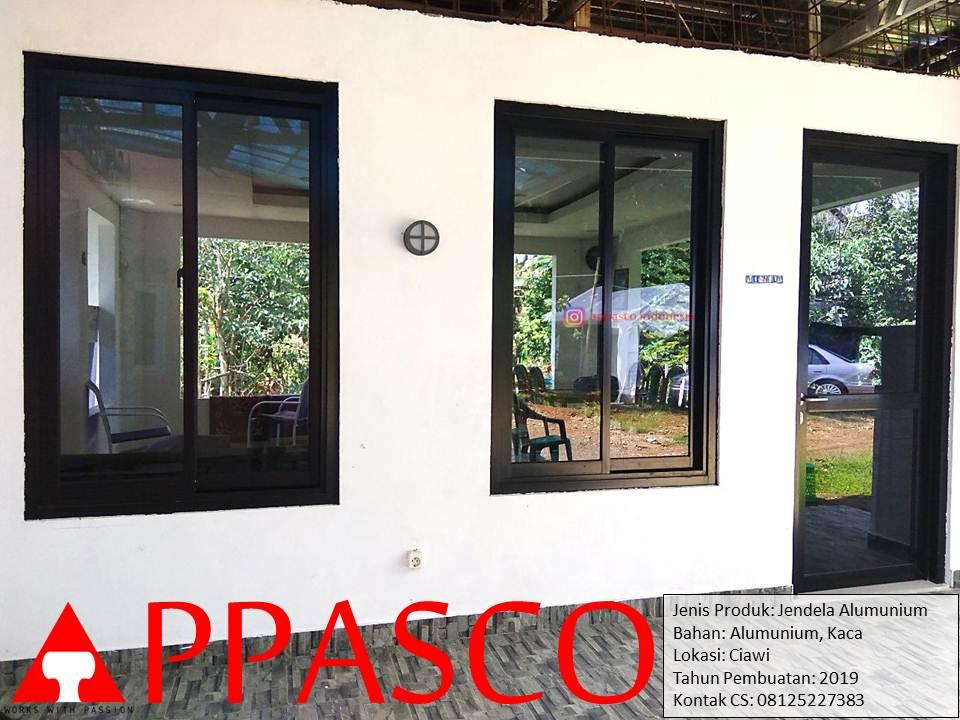 Jendela Aluminium dan Pintu Kaca di Ciawi Bogor