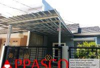 Kanopi Baja Ringan Atap Spandek di Gramayudha Residence