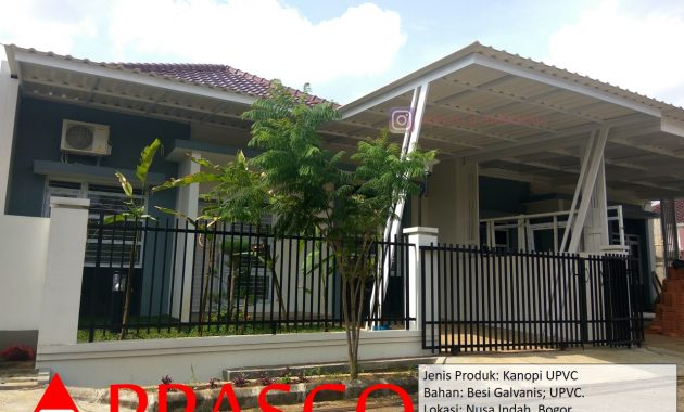Kanopi Modern UPVC Nusa Indah Bogor