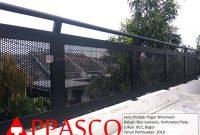 Pagar Wiremesh Galvanis di BCC Bogor
