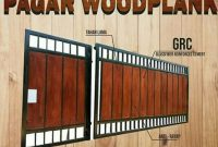 Pagar Woodplank