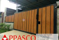 Pagar Woodplank GRC Swadaya Bogor