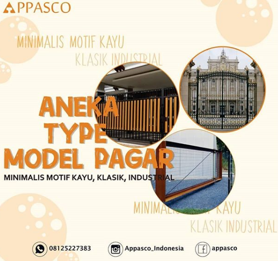 Aneka Tipe Model Pagar