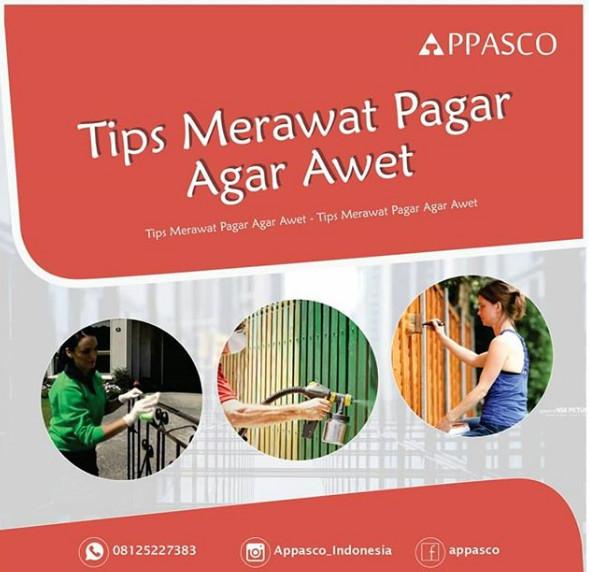 tips merawat pagar agar awet