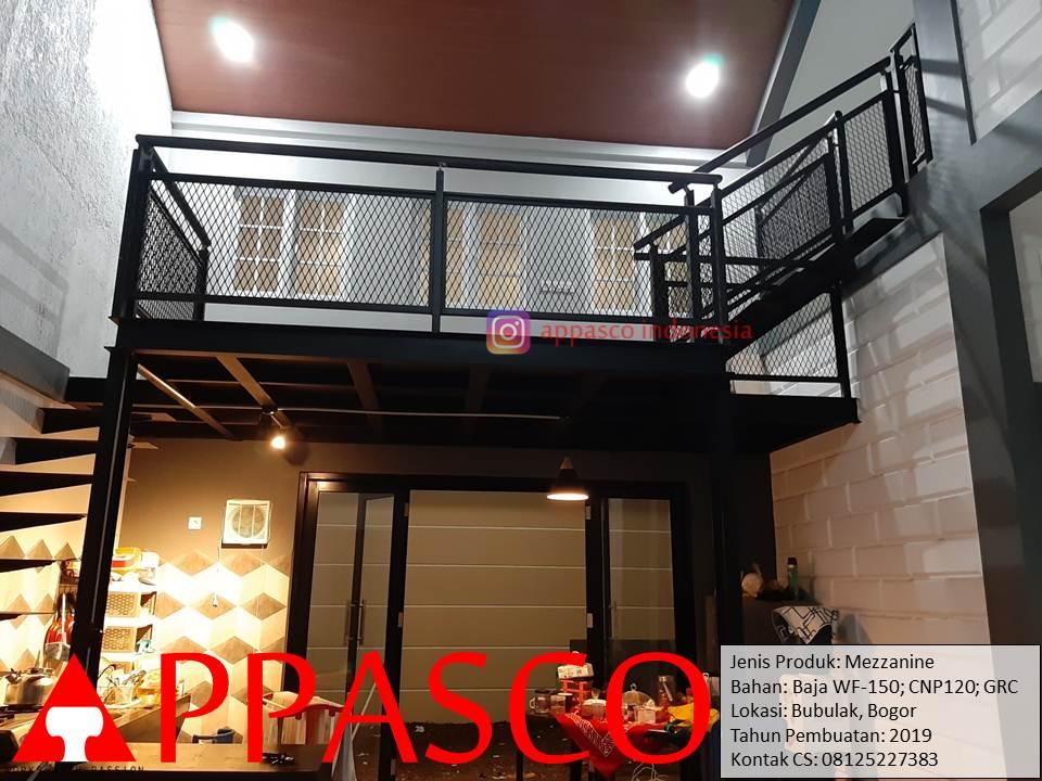 Mezzanine Minimalis Modern di Bogor