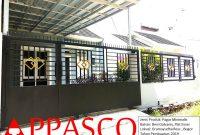 Pagar Minimalis Plat Esser di Gramayudha Residence