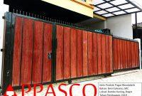 Pagar Woodplank Klasik di Bambu Kuning Bogor