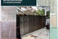 Perbedaan Konstruksi Besi Hollow Galvanis dan yang Tidak