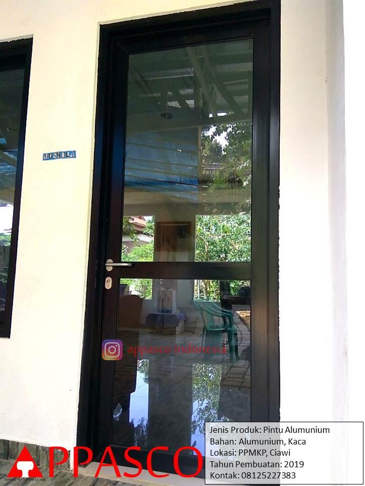 Pintu Aluminium Kaca di PPMKP Ciawi
