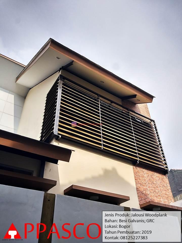 Jalusi Woodplank Model Keren Minimalis