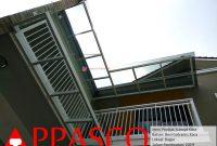 Kanopi Kaca Teras Balkon Lantai 2 di Bogor