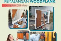 Metode Pemasangan Woodplank